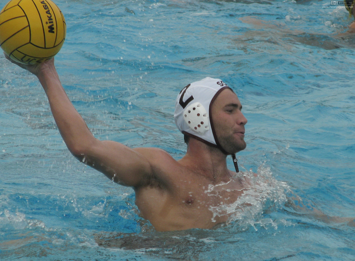 Liam Farrell: Santa Clara Bronco senior Liam Farrell controls the ball.